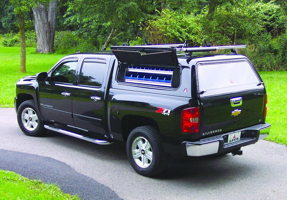 Leer 100rcc Commercial Shell Mobile Living Truck And