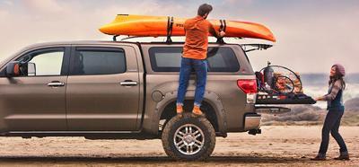 Leer truck topper best option for fishing