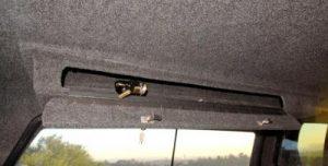 Locking Overhead Storage Box
