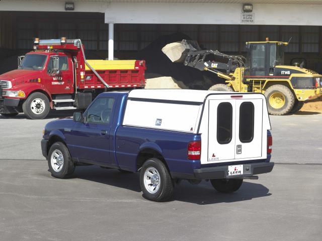 leer dcc cab high commercial shell mobile living truck. Black Bedroom Furniture Sets. Home Design Ideas