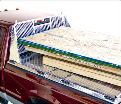 Tacoma Tonneau Cover >> Diamond Back HD Cab Guard – Mobile Living | Truck and SUV Accessories