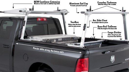 Tracrac G2 Sliding Truck Rack Mobile Living Truck And