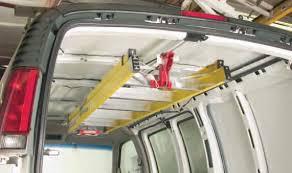 Weatherguard 250 Universal Sliding Interiorladder Rack